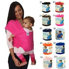 Cotton Baby Sling Stretchy Wrap Baby Carrier for Mom And Dad 0-3 ...