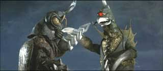 Image result for Megalon and Gigan