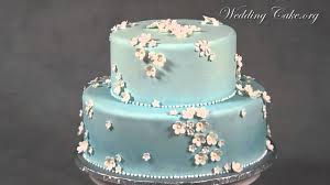 Blue Wedding Cakes Modern Wedding Cakes Dainty Petals Youtube