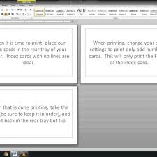 Index Cards Word Template Note Index Cards Word Template Youtube In Index Card Template