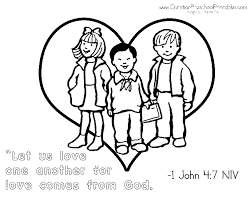 Small Picture 1 John 4 16 Coloring PageColoringPrintable Coloring Pages Free
