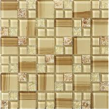 Crackle Glass Tile Hand Paint Cystal Glass Resin With Shell Tile Interesting Resin Backsplash Ideas