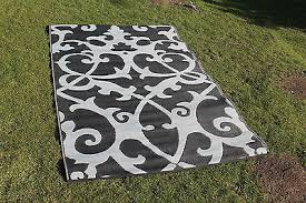 plastic outdoor rugs uk. good quality woven plastic mat indoor outdoor rug black grey psychedelic new plastic outdoor rugs uk .
