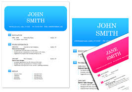 resume template for web developers colorful resume template free download