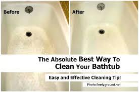 how to whiten bathtub clean bathtub caulking