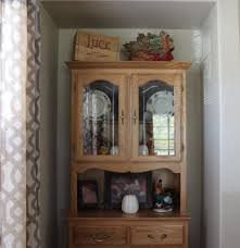 Kathe With An E Fall China Cabinet Decor