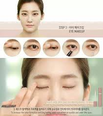 korean makeup tutorials and asian 3 make up tutorial ala