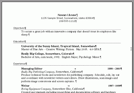 how to set up resume format reentrycorps resume setup