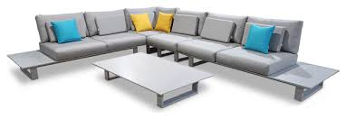 5 piece cannes sofa sectional set