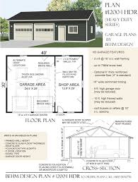 10 ft garage doorThis is the new Heavy Duty version of the popular 12001 plan