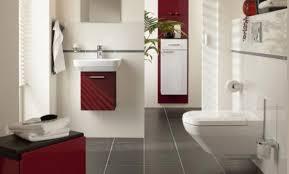 Red Bathroom Decor Red Bathroom Decor Ideas Square White Ceramic Double Sink Grey