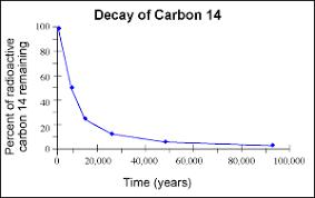 Radioactive Isotopes Chart Biomath Carbon Dating