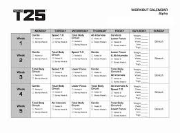t25 alpha calendar