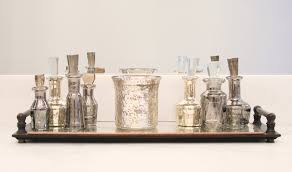 mercury glass bathroom accessories. Marvellous Home Themes About Decorating Charming Mercury Glass Candle Holders For Bathroom Accessories A