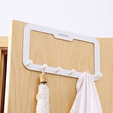Behind The Door Coat Rack USD 100100] Free Nail Nontrace Behind The Door Hook Racks Coat Rack 58