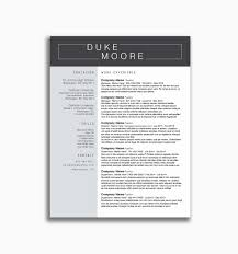 Mid Century Modern Resume Template Effective Resume Templates 2017 Elegant Microsoft Word Resume