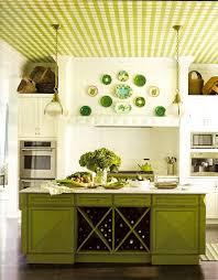 kitchen vintage lime green kitchen cabinet decor ideas with laminate wooden floor also white countertop