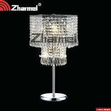 awesome crystal chandelier table lamp and crystal chandelier table lamp elegant modern china lamps pink full