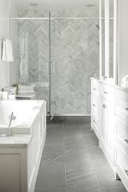 Bathroom: Traditional Grey And White Bathroom In 17 Classic Gray Bathrooms  from Miraculous Grey And
