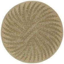 tara pablo gold 12 ft x 12 ft round area rug