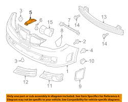 subaru oem 08 15 impreza front bumper center bracket 57707fg040 subaru oem 08 15 impreza front bumper center bracket 57707fg040