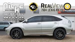 RealView - 2004 Lexus RX330 w/ 20x9 Niche Invert & 245/45 Nitto ...
