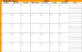Free Online Monthly Planner Free Monthly Calendar Or Planner Printable Online Imp
