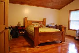 Handmade Four Post Bed by Larue Woodworking | CustomMade.com