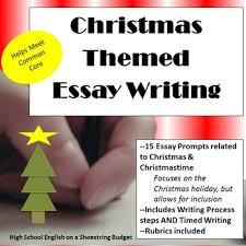 christmas themed essay writing w rubrics printables writing  christmas themed essay writing w rubrics printables