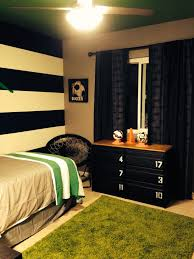 Impressive Idea Soccer Bedroom Home Designing Home Design Ideas