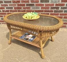 wicker table wicker round table base