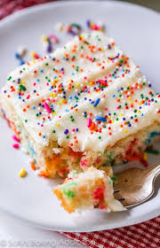 Funfetti Sheet Cake Sallys Baking Addiction