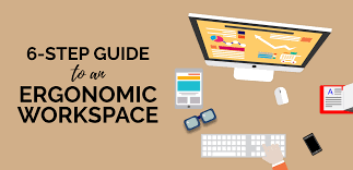 not sure how to set up an ergonomic workspace here s a 6 step guide