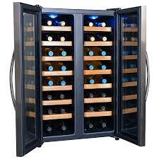 newair 28 bottle wine cooler. Delighful Newair NewAir 32Bottle Capacity Stainless Steel Dual Zone Cooling Freestanding Wine  Chiller For Newair 28 Bottle Cooler I