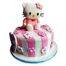 1kg Hello Kitty Dark Truffle Cake