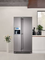 Electrolux Enl60710x Sbs Fridge Lr Refrigerator In The Kitchen Make  Statement Your With Electroluxs American Style