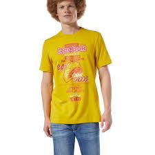 Reebok Футболка <b>Classics</b> International Tacos - желтый | Reebok ...