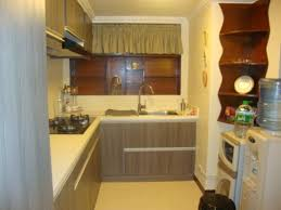 Small Modular Kitchen Appealing Modular Small Kitchen Design Ideas With Brown Color