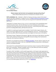 miasf marine industry job fair set for fort lauderdale marine industry job fair at flibs 10 1 14 page 001