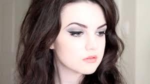 60s s barbarella hair makeup tutorial