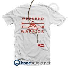 Weekend Warrior T Shirt Adult Unisex Size S 3xl