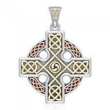 celtic knotwork cross pendant otp477