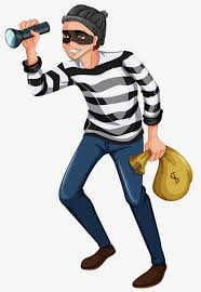 Image result for thief clipart