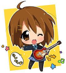 Resultat d'imatges de chica anime cantando