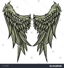 Best Wings Vector Art Drawing Vector Images Design