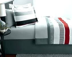 green and white striped bed sheets the best of grey recycled jersey stripe sheet set red