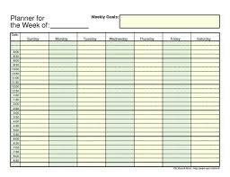 Week Hourly Calendar Calendar Weekly Hourly 0 Within Weekly Hourly Calendar