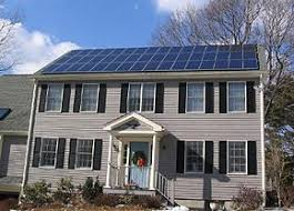 grid connected photovoltaic power system a grid connected residential solar rooftop system near boston usa