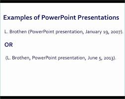 Apa Citation For Images In Powerpoint Citation Damour