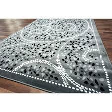 grey and cream area rug lovely unique pebbles black classic dark gray